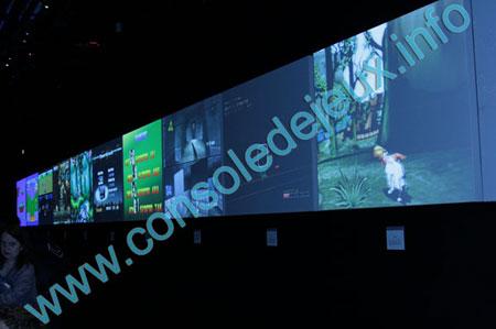 écran de jeux